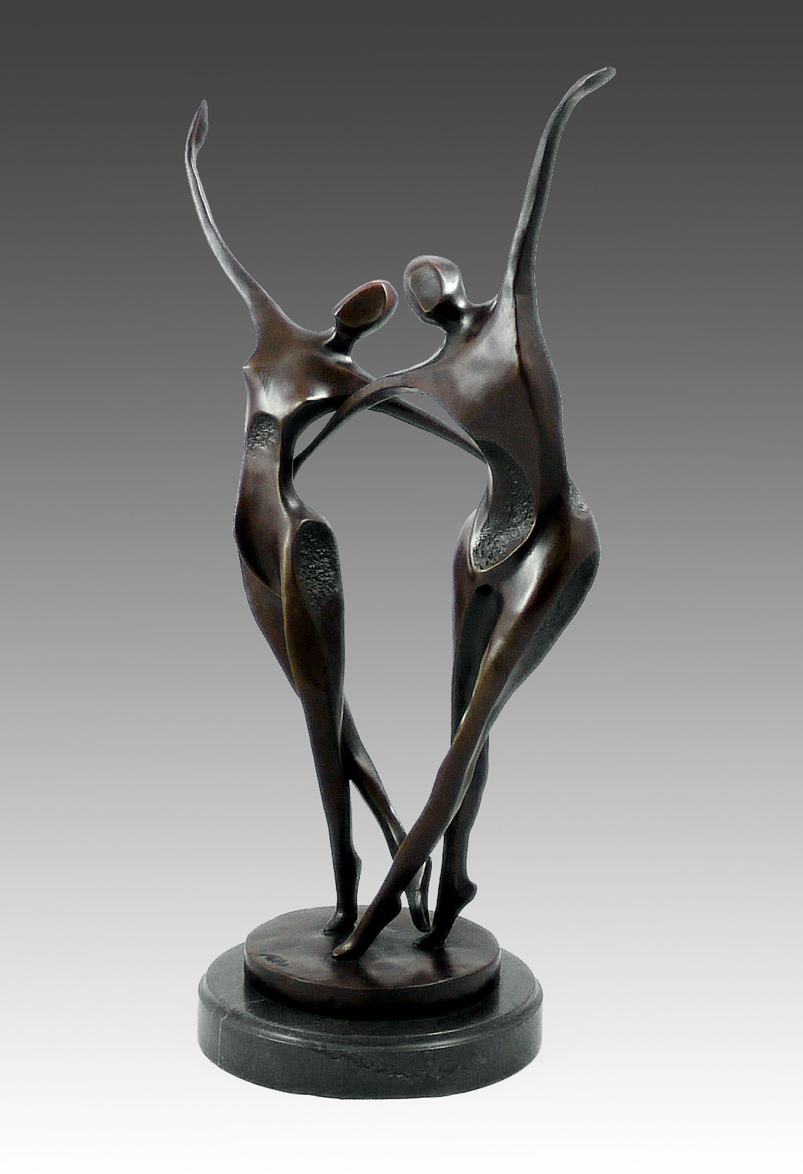 Fairy Daydream Bronze Sculpture Figure By French Artist