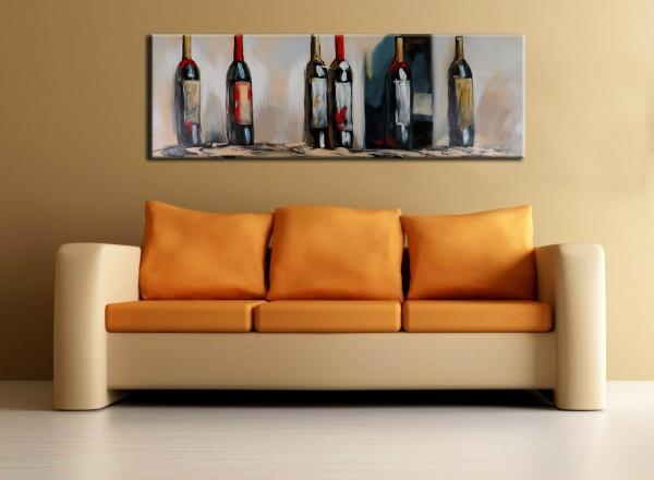 In vino veritas - acrylic on canvas - Martin Klein
