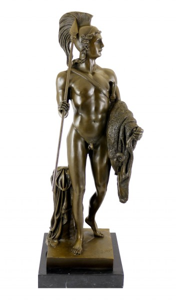 Bronze Statue - Jason with the Golden Fleece - B. Thorvaldsen