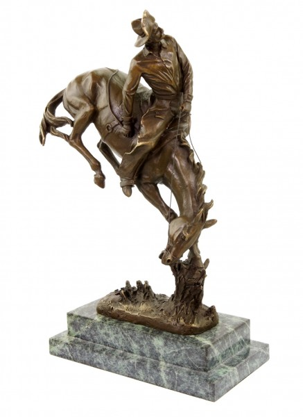 The Outlaw - Limited Bronze Horse Statue - Frederic Remington