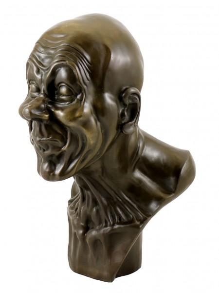 Bronze Head - Grotesque Grimace - Franz Xaver Messerschmidt