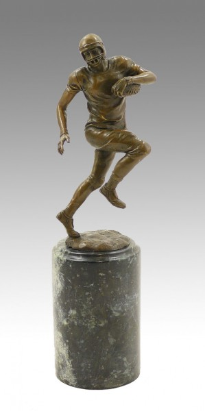 Cup / Sports Trophy - American Football Player - signed Milo