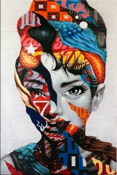 Modern Art - Lady´s Head Transformation - Martin Klein