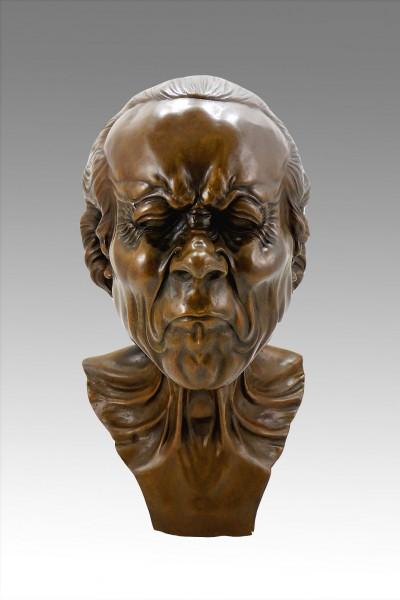 Franz Xaver Messerschmidt - Character Head - Bronze figure