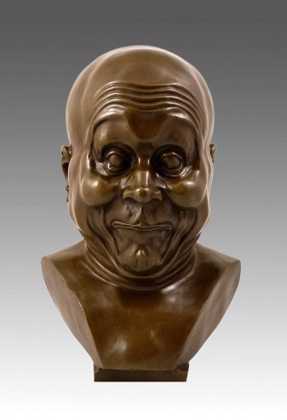 Franz Xaver Messerschmidt - striking head, Deliberate Prankster