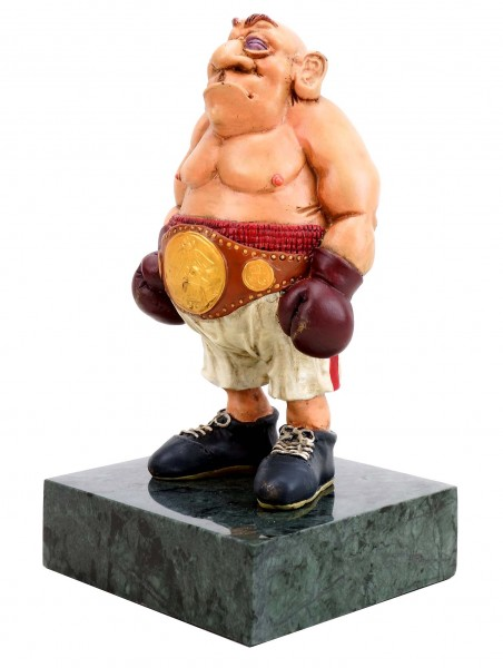 Ivan the Boxer - Hand-Painted Bronze Figurine - Milo
