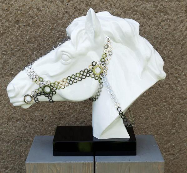 Stallion with Halter - Animal Figure - Fiberglass - Martin Klein