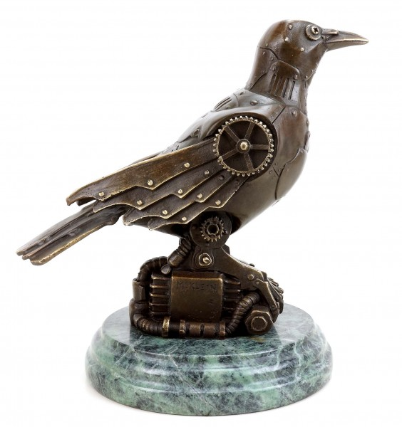 Steam Punk Figurine - Bronze Bird - Martin Klein