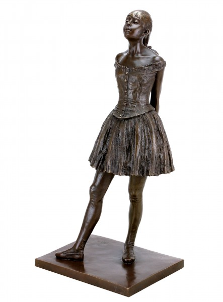 Little Fourteen Year Old Dancer - Bronze Sculpture - Edgar Degas