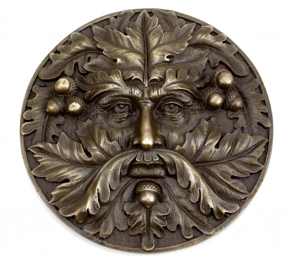 Bronze Wall Relief - Spirit - Green Man - Milo