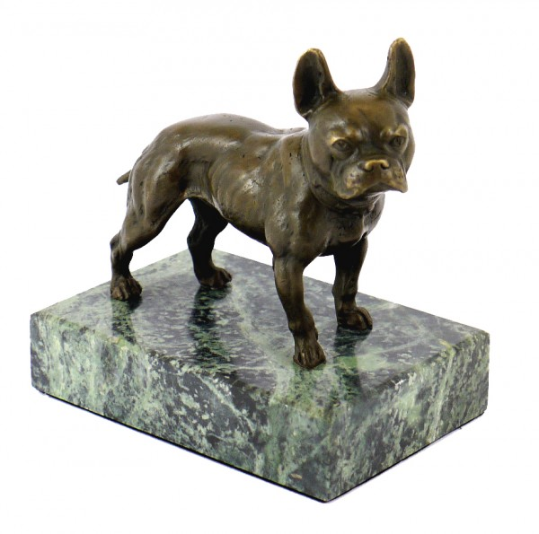 Vienna Bronze/Animal Statue - Bulldog - Bergmann Stamp