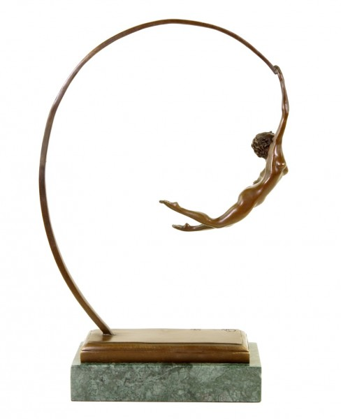 The Ease of Being - Signed Milo - Limited Bronze Sculpture