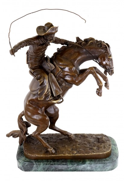 The Bronco Buster - Bronze Figurine - Frederic Remington