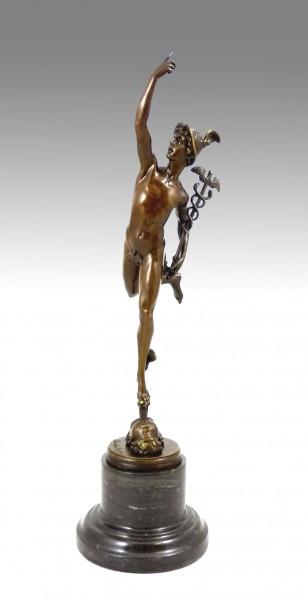 Hermes Bronze- Giambologna- Greek Mythology