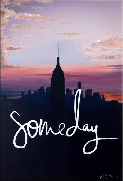 Someday - New York Skyline - Martin Klein