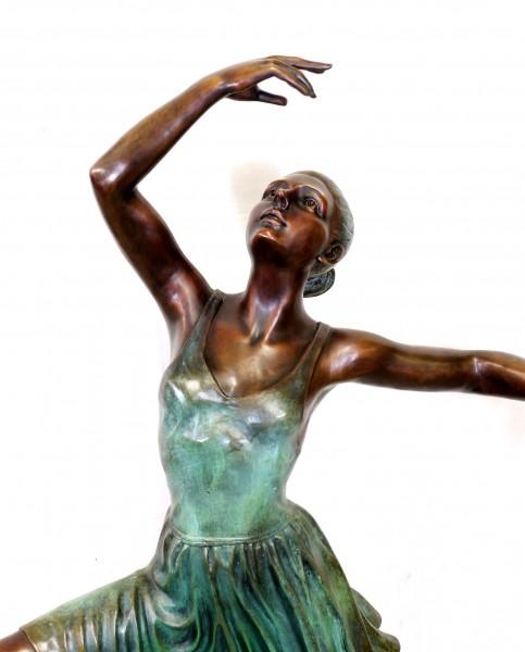 Large Modern Art Sculpture Ballerina, signed Edgar Degas
