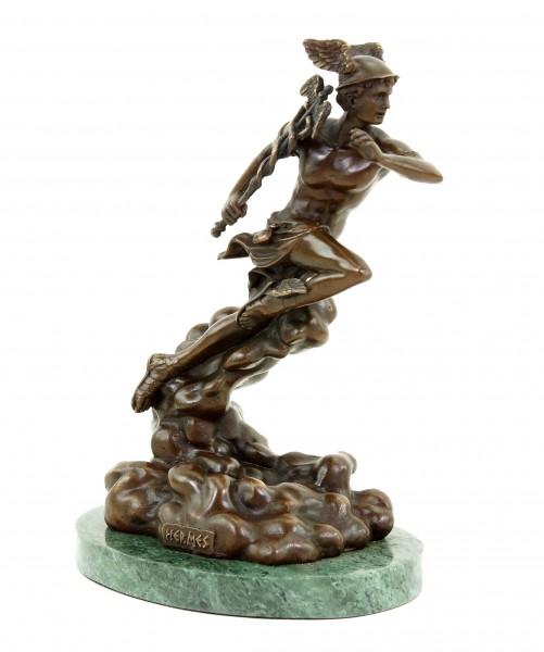 Hermes - God Statue - Signed Giambologna - Mythological Sculpture