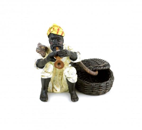 Vienna Bronze - Snake Charmer - Stamped - Two-Piece