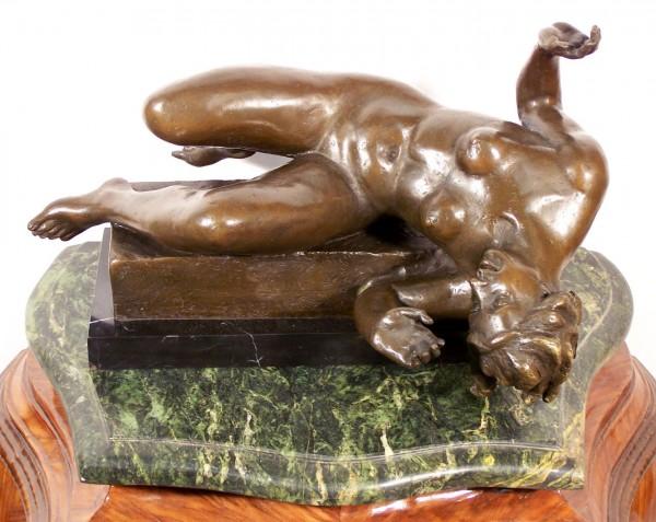 Modern Art Bronze - La Riviere - by Aristide Maillol
